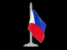 Flag with flagpole